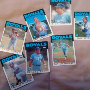 A few of the players from the 1985 KC Royals World Series team.