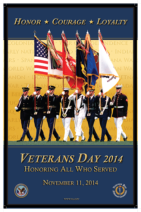 Veterans Day Poster 2014