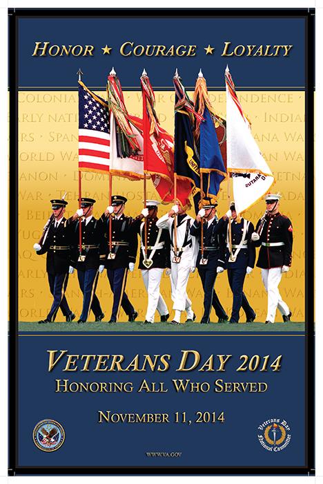 Veterans Day Poster 2014