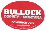 Bullock Bumper Sticker